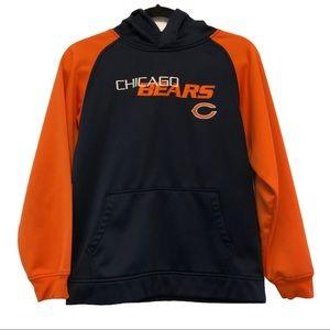 Navy & Orange Chicago Bears Hoodie